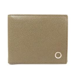 ブルガリ ロゴ金具 二つ折り財布(小銭入れなし)メンズ
