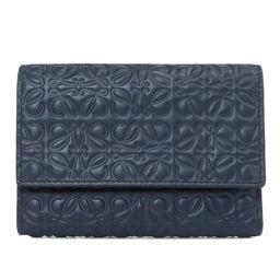 ロエベ ロゴデザイン 二つ折り財布(小銭入れあり)レディース
