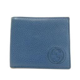 グッチ 322114 インターロッキングG 二つ折り財布(小銭入れなし)メンズ