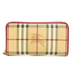 Burberry Nova Check Long Purse (with coin purse) Ladies