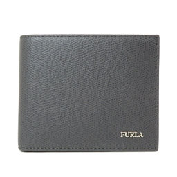 フルラ ロゴモチーフ  二つ折り財布(小銭入れあり)メンズ