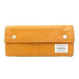 Porter logo type long wallet (with coin purse) men