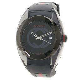 グッチ 137.1 シンク エクストララージ 腕時計メンズ