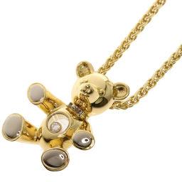 Chopard Happy Diamond Bear Necklace Ladies
