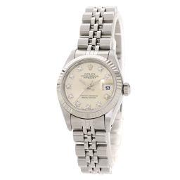 ロレックス 69174G デイトジャスト 10P ダイヤモンド 腕時計 OH済レディース