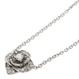 Piaget Rose Diamond Necklace Ladies
