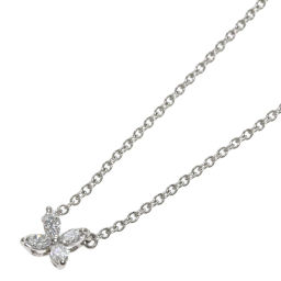 ティファニー ヴィクトリアミニ ダイヤモンド ネックレスレディース