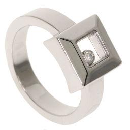 ショパール ハッピーダイヤモンド 1P スクエア リング・指輪レディース