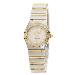 欧米茄1267.30 Constellation Bezel Diamond Watch Ladies