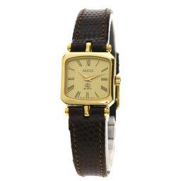 グッチ スクエア 腕時計レディース