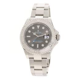 ロレックス 116622 ヨットマスター ロレジウム ダークロジウム 腕時計メンズ