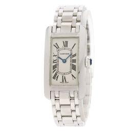 カルティエ タンクアメリカン SM  腕時計レディース