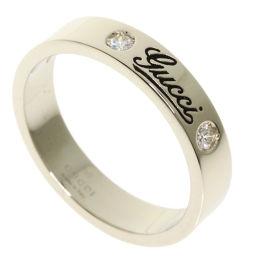 グッチ アイコンリング プリント #12 2P ダイヤモンド リング・指輪レディース
