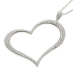 Piaget Limelight Diamond Heart Motif Necklace Womens