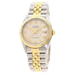 ロレックス 16233 デイトジャスト 腕時計 OH済メンズ