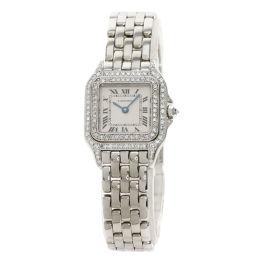 カルティエ パンテール SM ベゼル2重ダイヤモンド 腕時計 OH済レディース