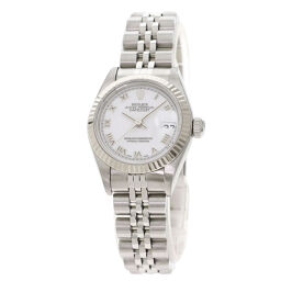 ロレックス 69174 デイトジャスト ローマホワイト 腕時計 OH済レディース