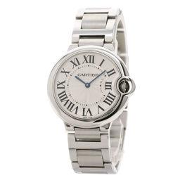 カルティエ W69011Z4 バロンブルー MM 36mm 腕時計メンズ