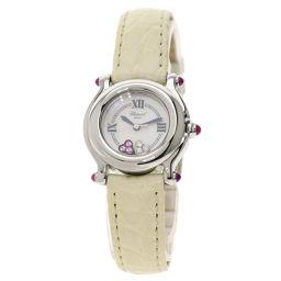 ショパール 27/8245-42 ハッピースポーツ ダイヤモンド サファイア 腕時計レディース