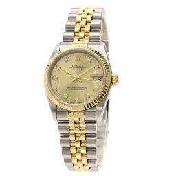 ロレックス 78273G デイトジャスト 10P ダイヤモンド 腕時計ボーイズ