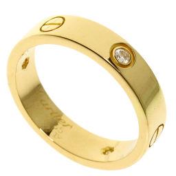 カルティエ ラブリング ハーフダイヤモンド リング・指輪メンズ