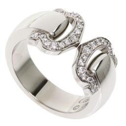 カルティエ 2Cブークルセ #48 ダイヤモンド リング・指輪レディース