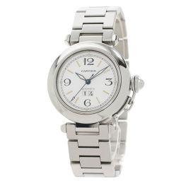 カルティエ パシャC ビッグデイト 腕時計 OH済ボーイズ