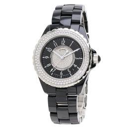 シャネル H1709 J12 38mm センターダイヤモンド 腕時計メンズ