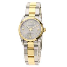 ロレックス 77483 オイスターパーペチュアル 腕時計 OH済ボーイズ
