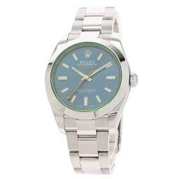 ロレックス 116400GV ミルガウス 腕時計メンズ