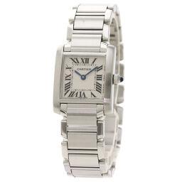 カルティエ W510080Q3 タンクフランセーズ SM  腕時計レディース