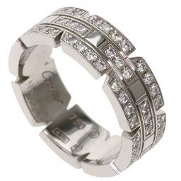 カルティエ タンクフランセーズ フルダイヤモンド #50 リング・指輪レディース