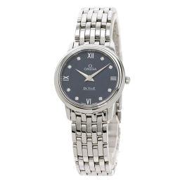 オメガ 424.10.27.60.53.001 デビル プレステージ  8P ダイヤモンド 腕時計レディース