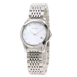グッチ  YA126.5 Gタイムレス 12P ダイヤモンド 腕時計レディース