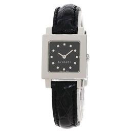 ブルガリ SQ22SL クアドラート 12P ダイヤモンド 腕時計レディース