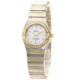 オメガ 1267.70 コンステレーション ベゼル ダイヤモンド 腕時計レディース
