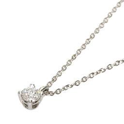 ティファニー ソリティア スタッドネックレス ダイヤモンド ネックレスレディース
