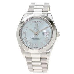 ロレックス 218206 デイデイト2 ローマ数字インデックス ダイヤモンド 腕時計メンズ
