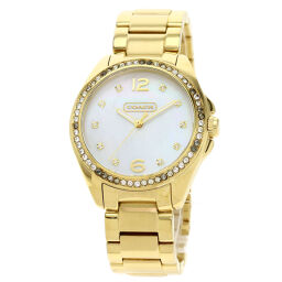 Coach 14501661 Round Face Watch Unisex