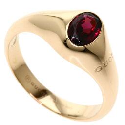 グッチ ガーネット#7 リング・指輪レディース