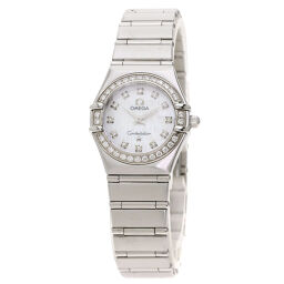 Omega 1460.7 Constellation 12P Diamond Watch Ladies