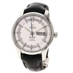 オメガ 43133412202001 デ・ビル アワービジョンマニュアルカレンダー 腕時計メンズ