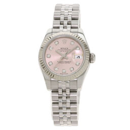 Rolex 179174G Datejust 10P Diamond Watch Ladies