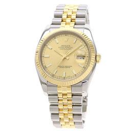 ロレックス 116233 デイトジャスト 腕時計メンズ