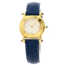 グッチ 6500L ラウンドフェイス 腕時計レディース