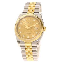 ロレックス 116233G デイトジャスト コンピューター文字盤 腕時計メンズ