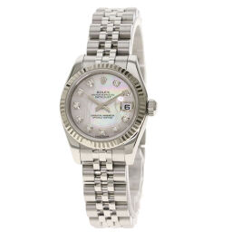 Rolex 179174NG Datejust 10P Diamond Watch Ladies