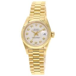 <html>    <body>   ロレックス 69178G デイトジャスト 10P ダイヤモンド 腕時計レディース        </body> </html>