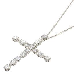 Harry Winston Symbols by Harry Winston Madonna Cross Pendant Medium Necklace Ladies