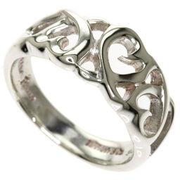 Tiffany & Co Triple Loving Heart Ring & Ring Ladies
